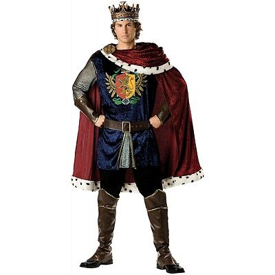 Arthur Halloween-kostüm (King Arthur Costume Adult Medieval Renaissance Halloween Fancy Dress)