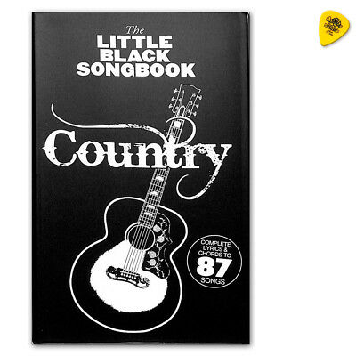 The Little Black Songbook Country - Music Sales - AM1013166 - 9781785587078