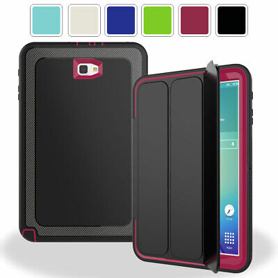 Heavy Duty Smart Case with Screen Protector For Samsung Galaxy Tab A 10.1 T580