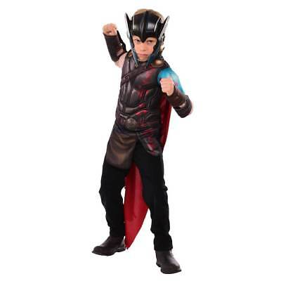 Thor Ragnarok Gladiator Child Muscle Top & Mask Costume Set Size 4-6 NEW G34035