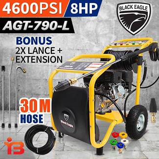 High Pressure Cleaner 7HP 4600PSI With Self Suction – 30M Hose