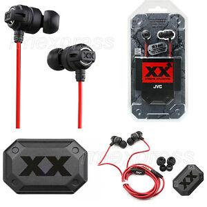 GENUINE JVC HAFX1X HA FX1X XTREME XPLOSIVES IN EAR CANAL HEADPHONES EARPHONES