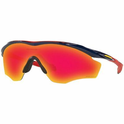 Authentic Oakley M2 Frame XL Men's Sport Sunglasses W/Prizm Ruby Lens OO9343 12