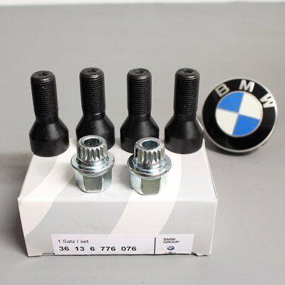 Original BMW Radschraubensicherung Felgenschloss 1er 3er 5er X5 X6 36136776076 online kaufen