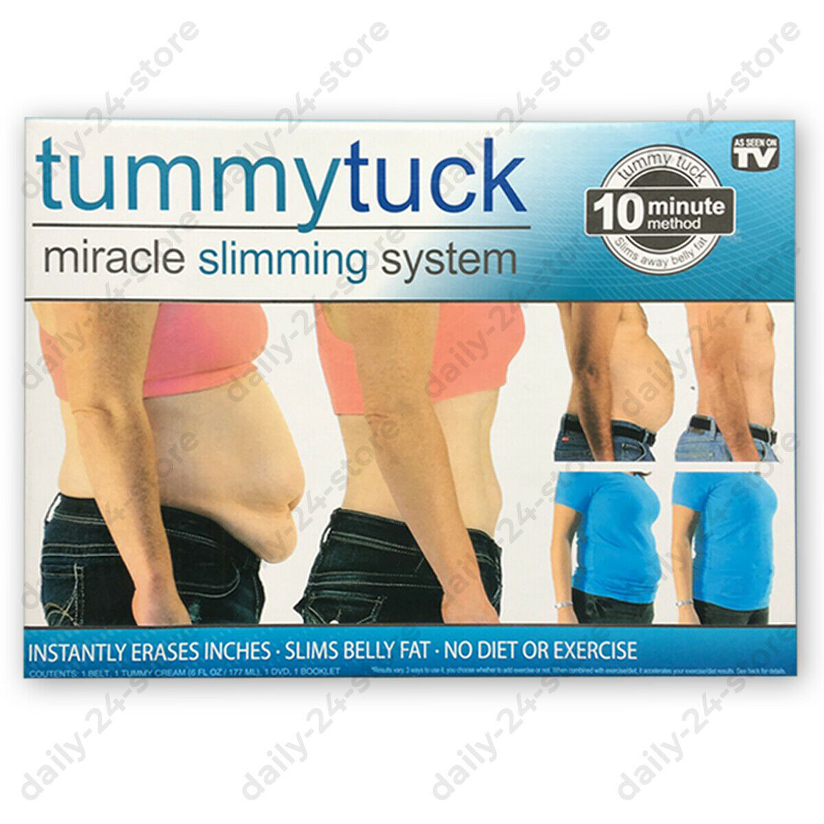 TUMMY TUCK Miracle Slimming System Belt Size 1 2 3 As on TV TRUSTED & ORIGINAL 1
