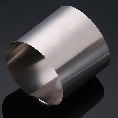 Us Stock 0.5mm X 200mm X 300mm Titanium Foil Plate Sheet Ta2 99 Purity