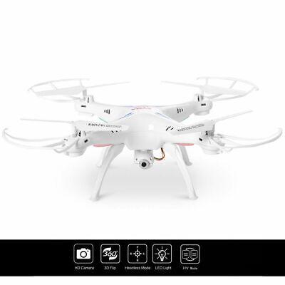 Syma X5SW WIFI FPV 2.4Ghz 4CH 6-Axis RC Quadcopter Drone Camera HD Virginal RTF