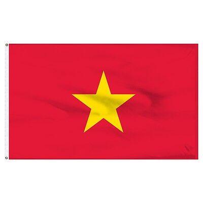 3x5 North Vietnam Viet Nam Flag 3'x5' House Banner indoor/ou