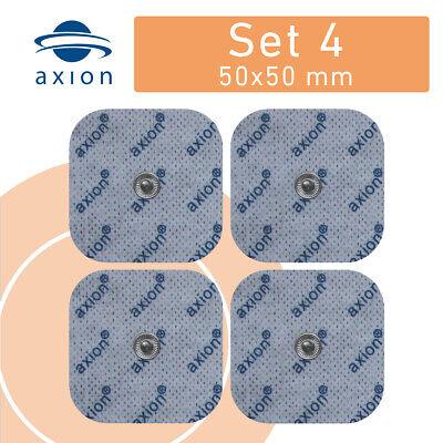 TENS EMS Elektroden 45x45mm Pads passend f. Sanitas SEM 40 42 43 44 Beurer Gerät