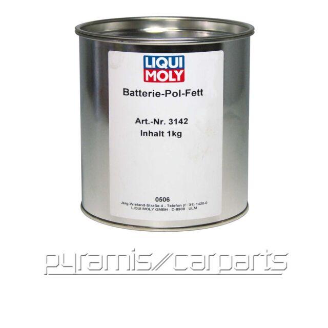 NEU 1x 3142 LIQUI MOLY Batterie-Pol-Fett 1kg (€56,95/KG)