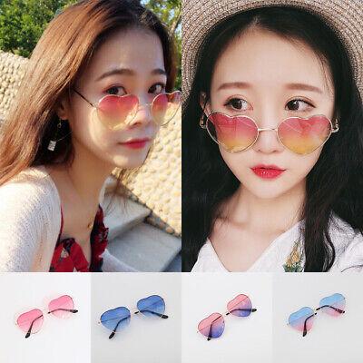 Hippie Women's Sunglasses Eye Glasses Heart Shaped Boho Festival Outdoor Glasses