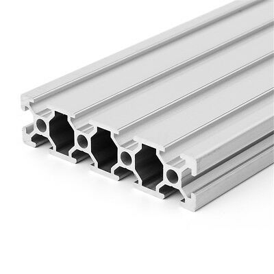 350500mm Length Aluminum T-slot Extruded Profile 2080 Extrusion Frame For Cnc