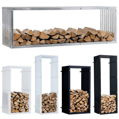 kaminholzst nder metall kaminholzregal feuerholzregal. Black Bedroom Furniture Sets. Home Design Ideas