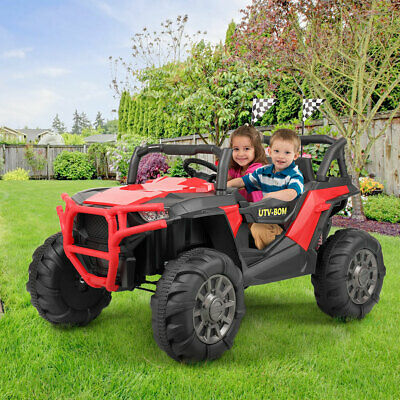 Electric Car Kids Ride on SUV Toy 12V Battery Powered W/ Remote Control RC, MP3