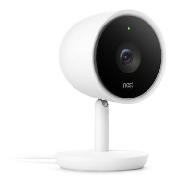 Nest Cam IQ Indoor Wi-fi 1080p IP Security Camera - White
