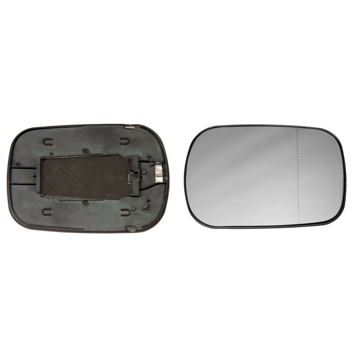 Right Hand Side,2002 to 2004 Honda Jazz Wing Mirror Glass,Silver