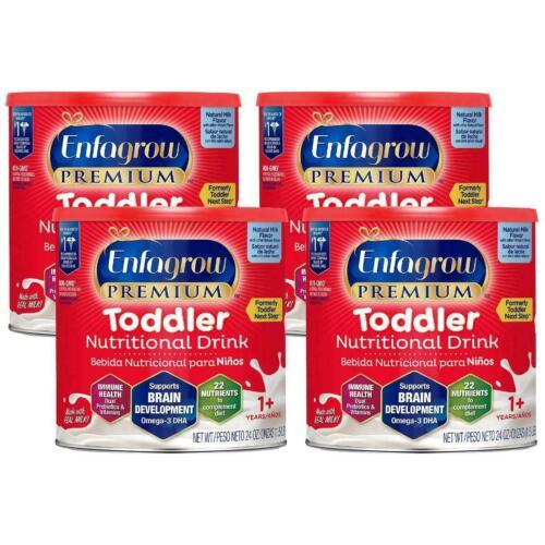 Enfagrow Premium Toddler Nutritional Drink 24 oz. each  (Lot of 4 Cans)