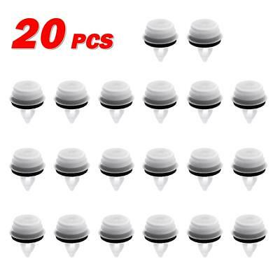 20pcs for BMW 650i Door Lining Trim Panel Mounting Clip with Seal Ring Natural