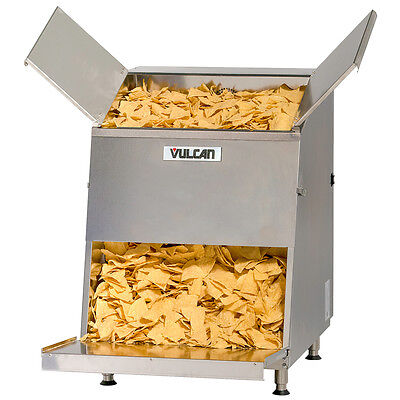 Vulcan Vcw46 Top Loading First-in First-out 46 Gallon Chip Warmer