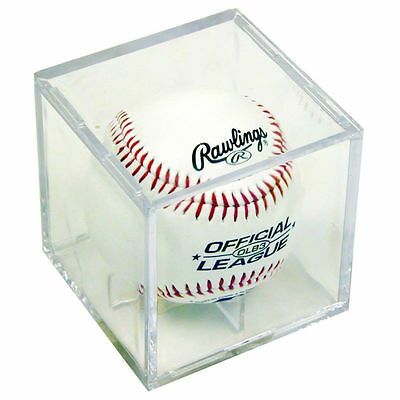 ULTRA PRO BASEBALL CUBE,  baseball display case clear NEW