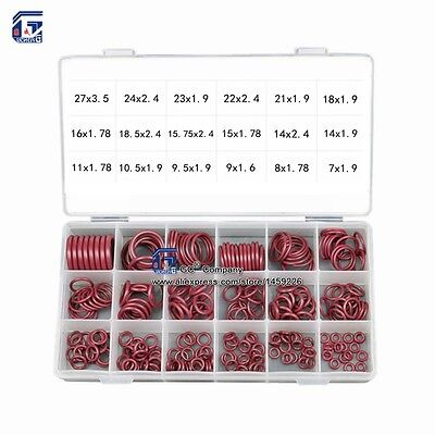 R134a R12 Hnbr Rubber O-ring Seal Kit Assortment Set