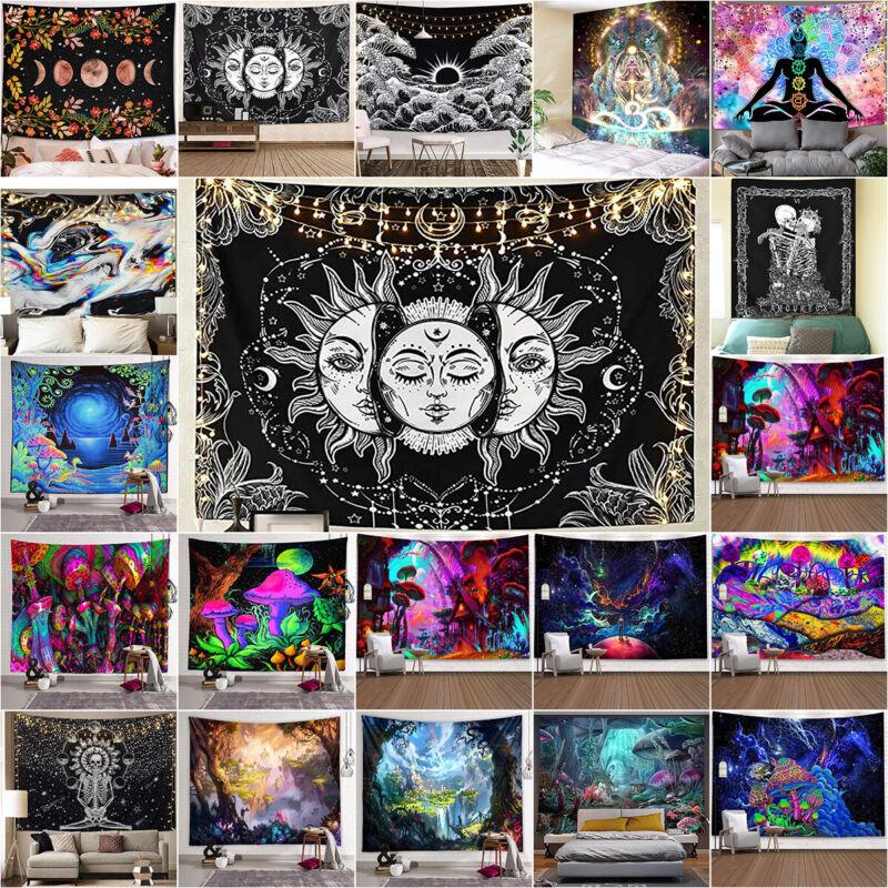 Wandteppich Tapestry Wandtuch Yoga Matte Wandbehang Böhmen Tapisserie Wanddeko