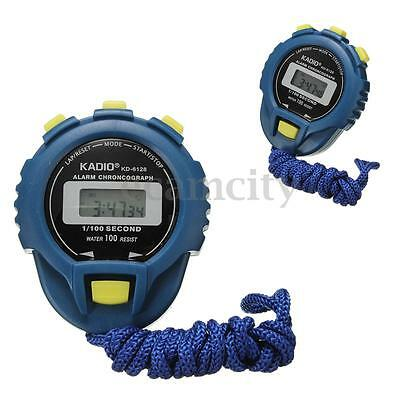 WaterProof Sport Odometer Electronic Digital Second Chronograph Time Stop Watch