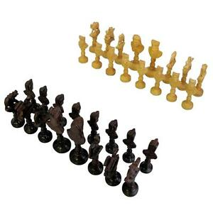 Arabian Themed Hand Made Chess Piece Set Camels Bishops Horses Elephants