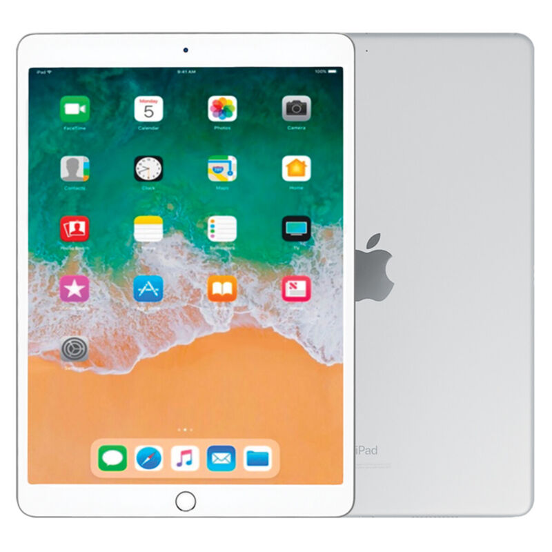 Apple iPad Air (Latest Model) with Wi-Fi 64GB Silver MUUK2LL/A