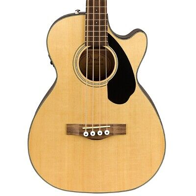 Fender CB60SCE Acoustic Electric Bass - Natural