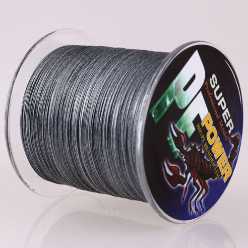 8 Strands 100M-2000M Red 10LB-30LB 100/% PE Dyneema Braided Fishing Line