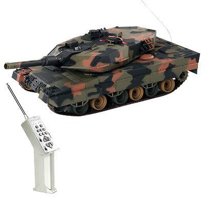 1:24 German LEOPARD II A5 RC Battle Tank Radio Remote Control Army Tank Toys