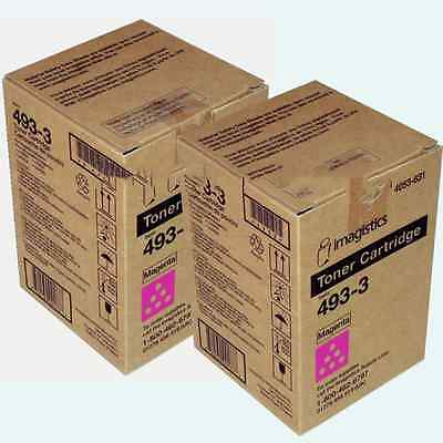 Oce Imagistics 493-3 Magenta Toner Cm3520 Cm3525 Cm4520 C...