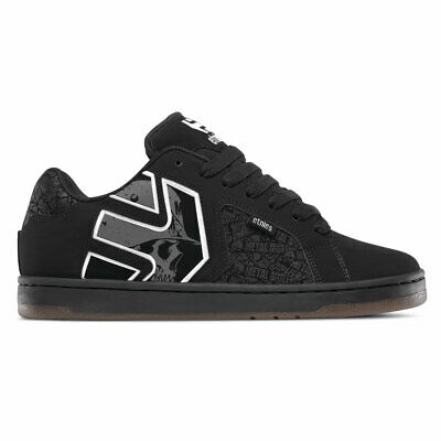New Etnies Skateboarding Shoes - Etnies Skateboard Shoes Metal Mulisha Fader 2 Black/Grey/White