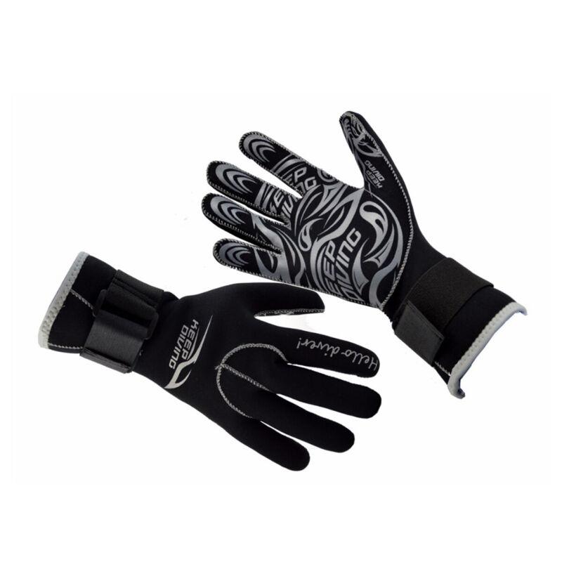 3mm Neoprene Diving Wetsuit Gloves Winter Swim Kayak Surf Snorkeling Gloves S-XL