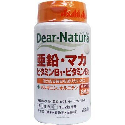 JAPAN DEAR NATURA ZINC MACA VITAMIN B1/B6(60pcs) ()
