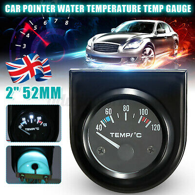 40-120℃ Universal Car Van 2'' 52mm Digital LED Water Temp Temperature Gauge Kit