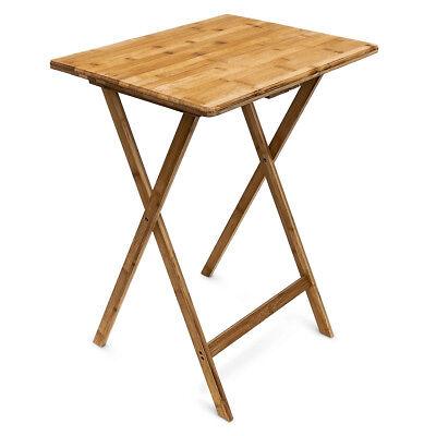 Klappbarer Tisch Beistelltisch Bambustisch Klapptisch Telefontisch Balkontisch