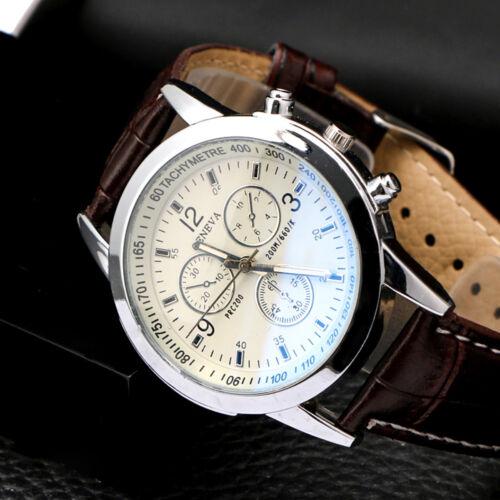 Brown + White Dial