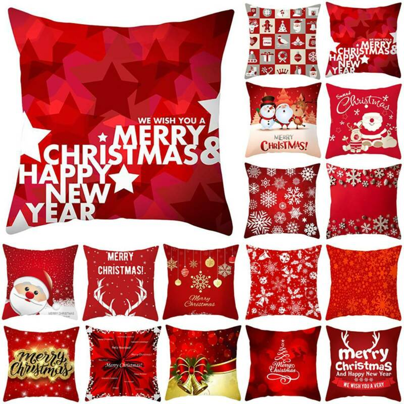 Pillow Covers Case Decor Throw Couch Sofa Home Cushion Ebay