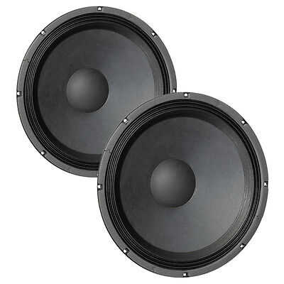 "Pair Eminence Kappa-15A 15"" Driver 8 ohm 100.5dB 3"" Coil Replacement Speaker"