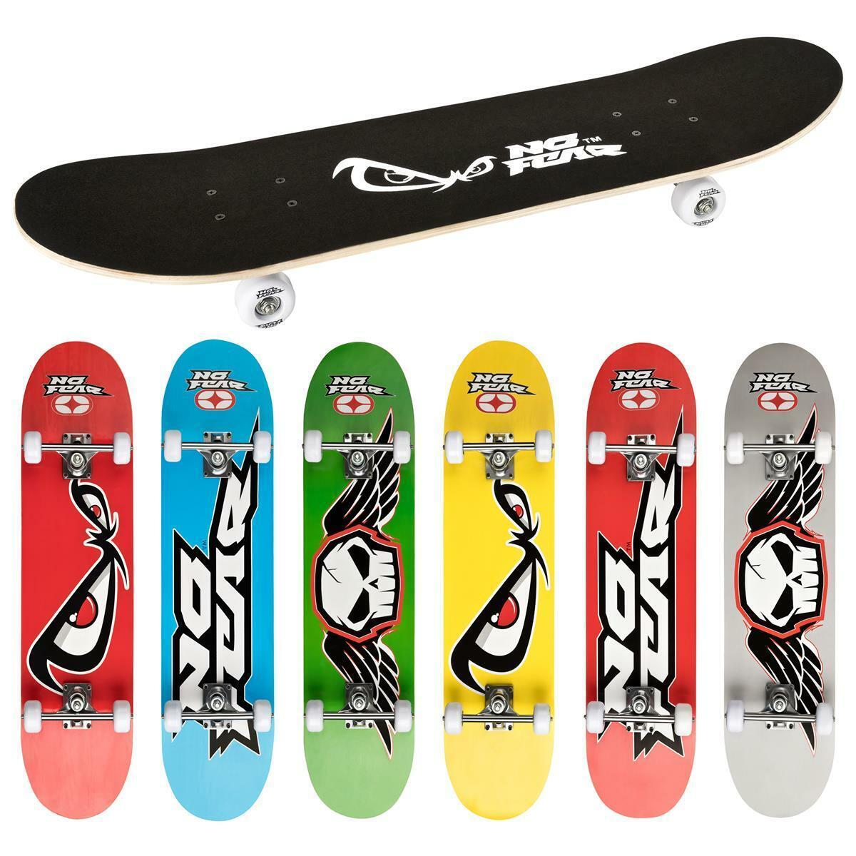 """NO FEAR Skateboard Kinderskateboard Komplettboard Funboard 30"""" 78,7 x 20,3cm"""