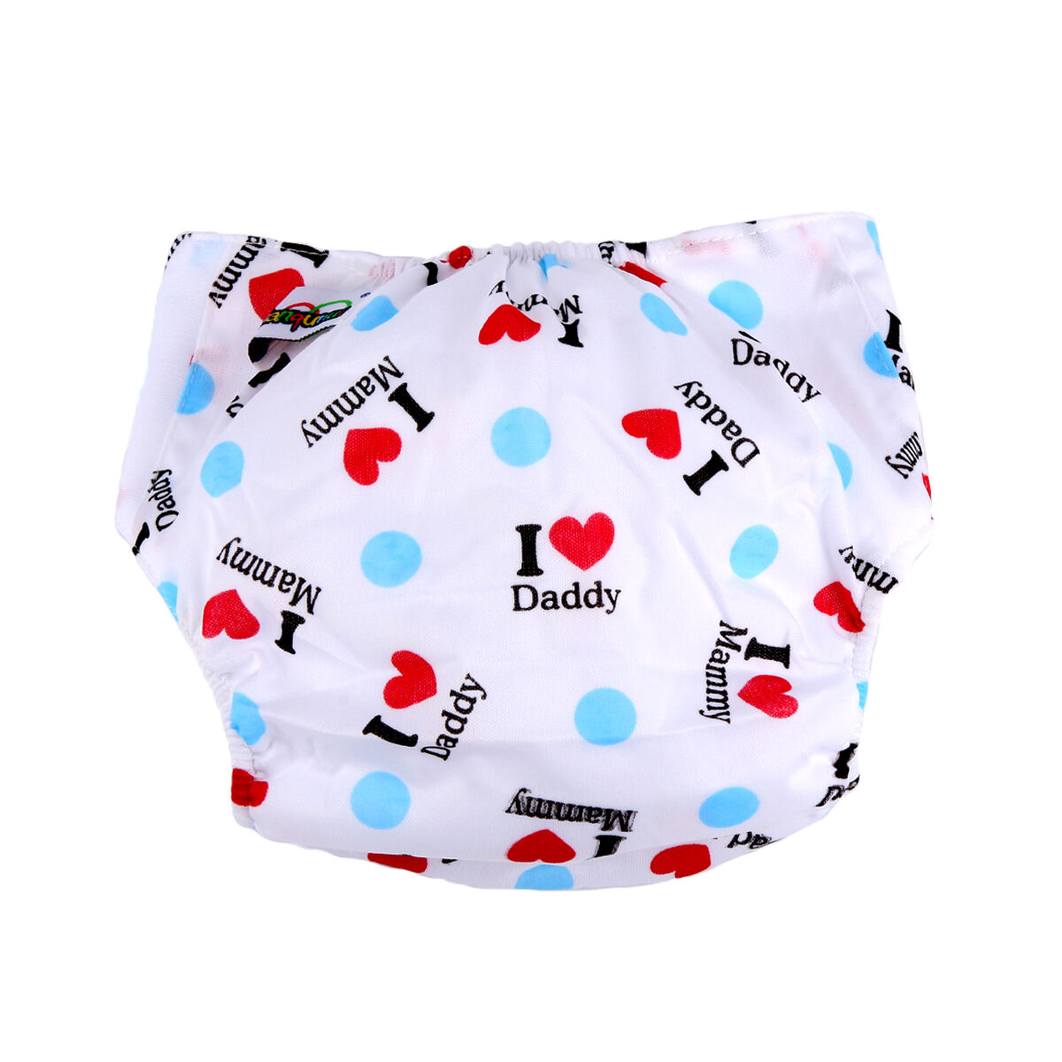 5pcs+ 5INSERT Lovely printing Adjustable Reusable Washable Cloth Diaper Nappies