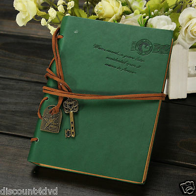 Notepad Diary Retro Vintage PU Leather Journals NoteBook  String Travel Gift New