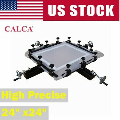 24 X24 Manual Screen Printing Stretcher High Precise Screen Stretching