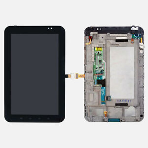 Samsung Galaxy Tab 7 P1000 LCD Display + Touch Digitizer Screen + Frame Assembly
