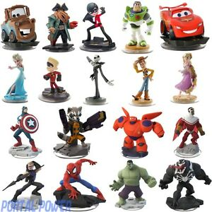 Disney-Infinity-1-0-amp-2-0-Figures-Play-Sets-Multi-Listing-3-0-Compatible