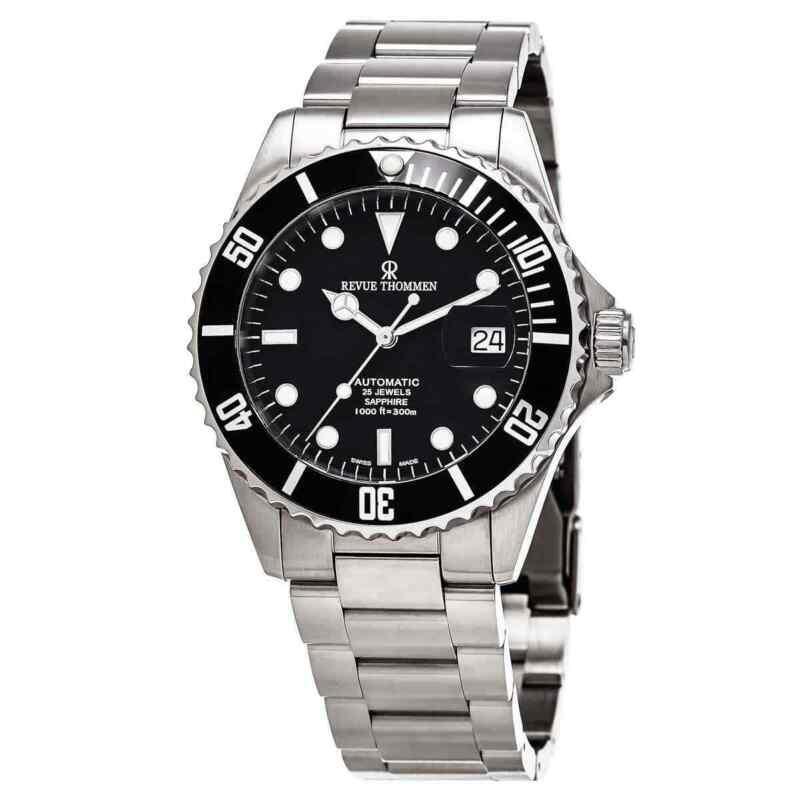 Revue Thommen Diver XL Automatic Black Dial Men Watch 17571.2137