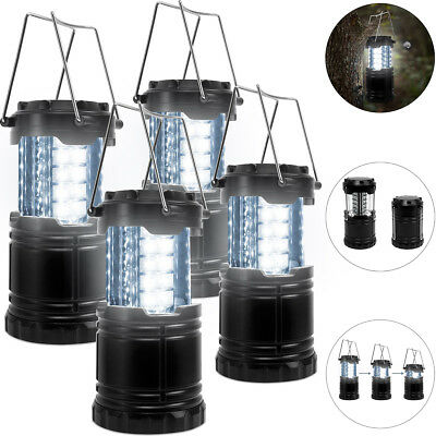 4x LED Campinglampe Camping Laterne Lampe Nachtlichter Außenleuchte