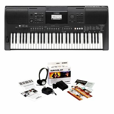 Yamaha PSR-E463 61-Key Portable Keyboard KIT
